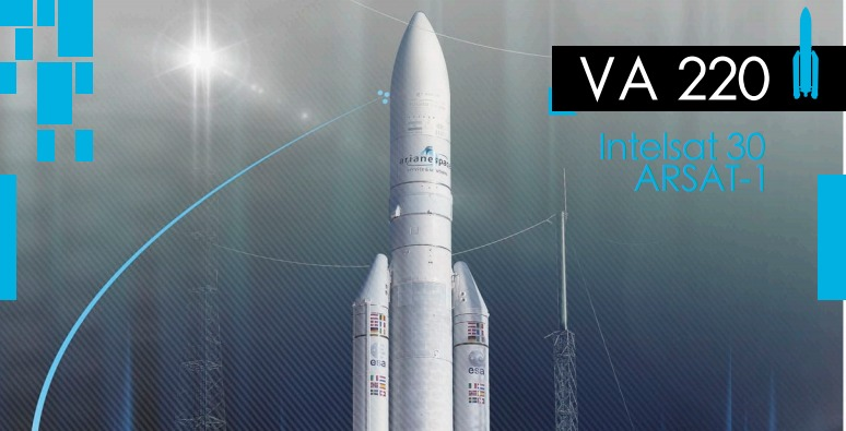 PDF. Ariane 5 VA-220 Launch Press Kit. Intelsat 30 - Arsat 1